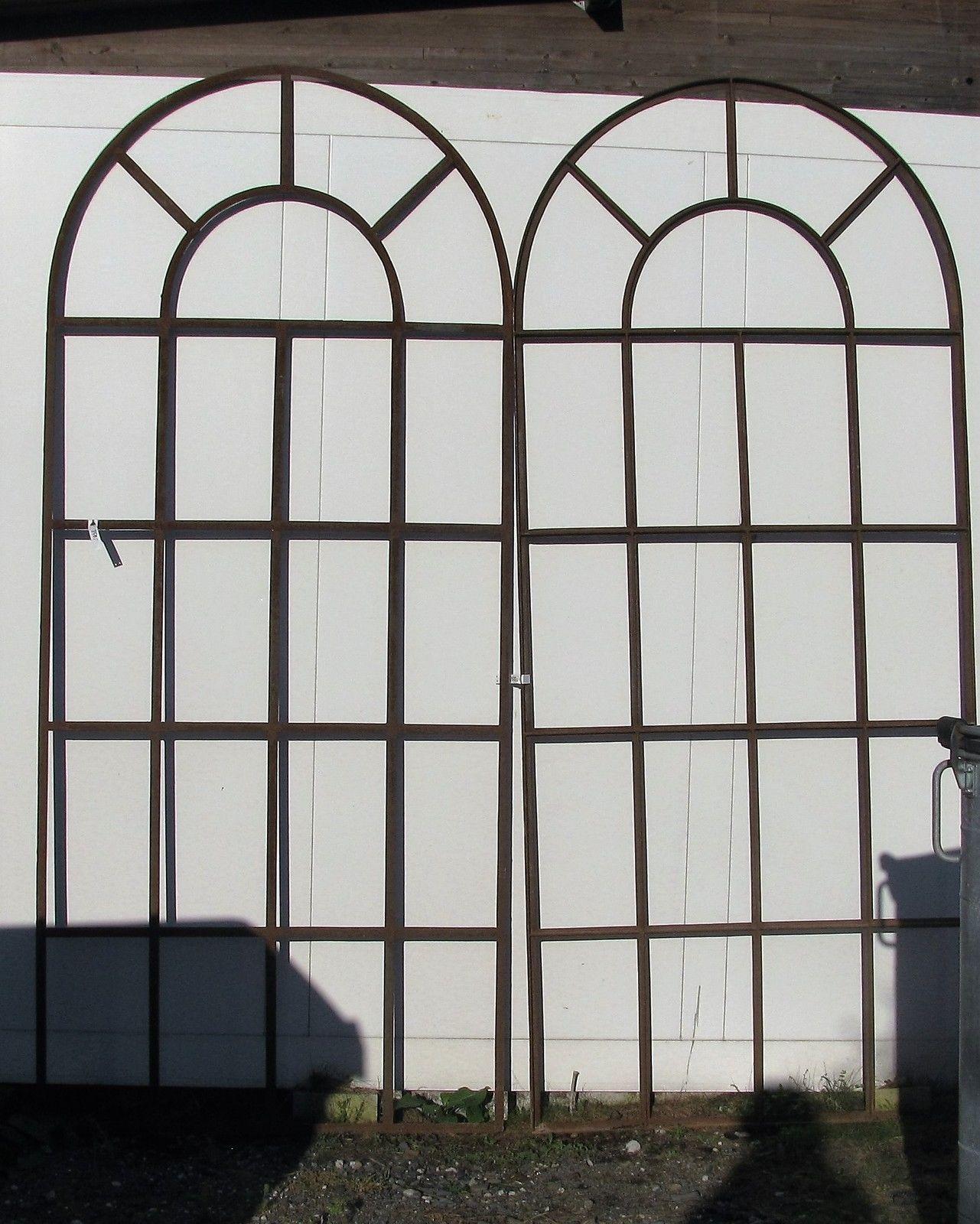 neu xxl eisenfenster industriefenster stallfenster fenster bogen 417