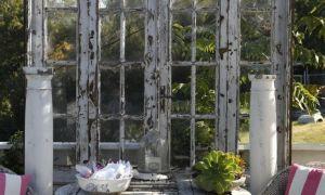36 Frisch Alte Fenster Als Deko Im Garten