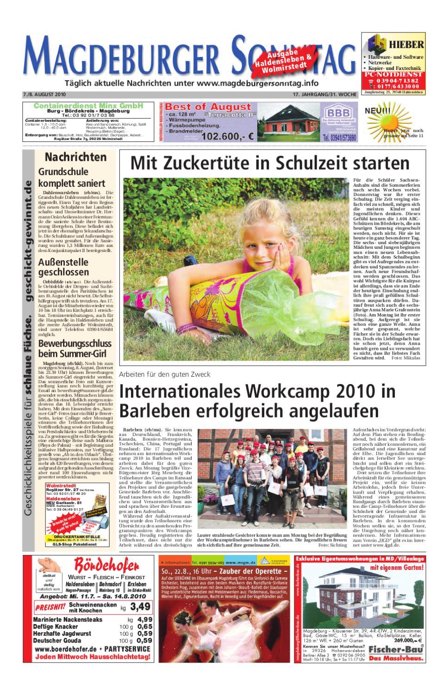 Alte Fensterläden Im Garten Neu Magdeburger sonntag by Peter Domnick issuu