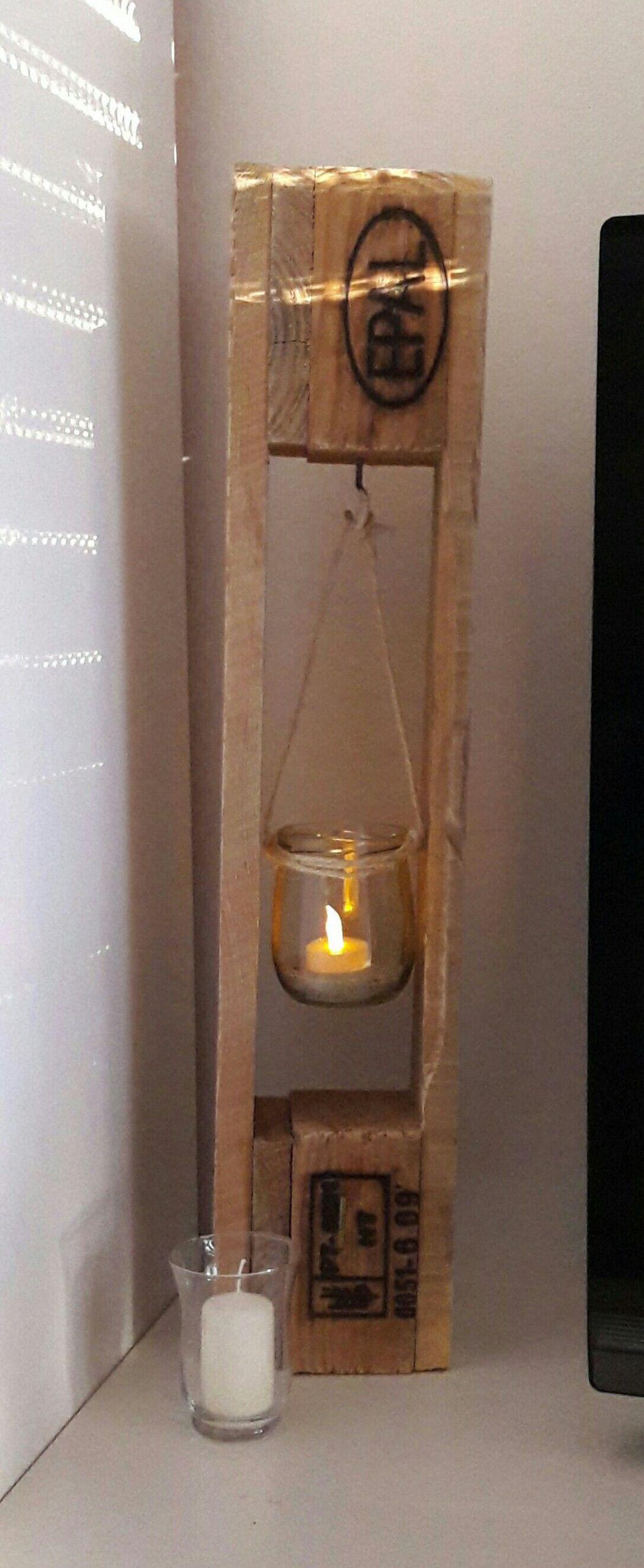 Alte Holzbalken Dekoration Elegant Deko Teelicht Aus Paletten