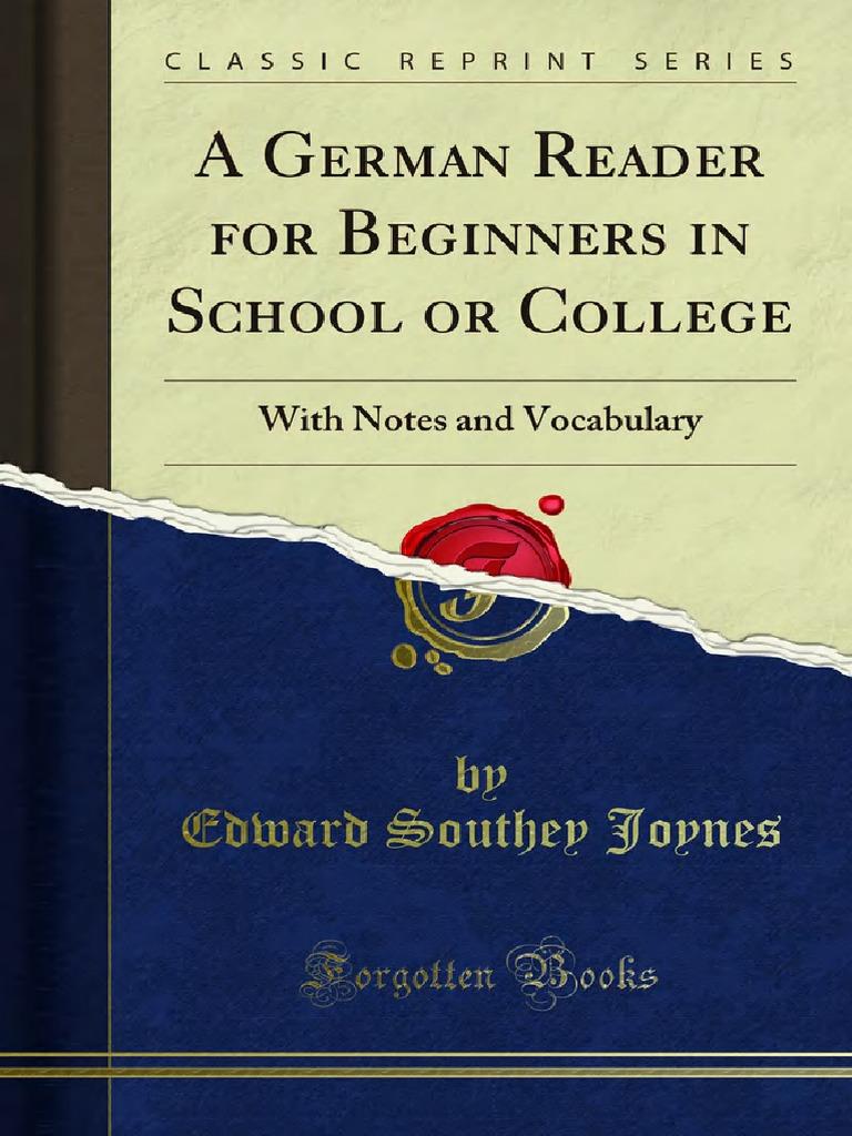 Alte Holztür Deko Schön A German Reader for Beginners In School or College