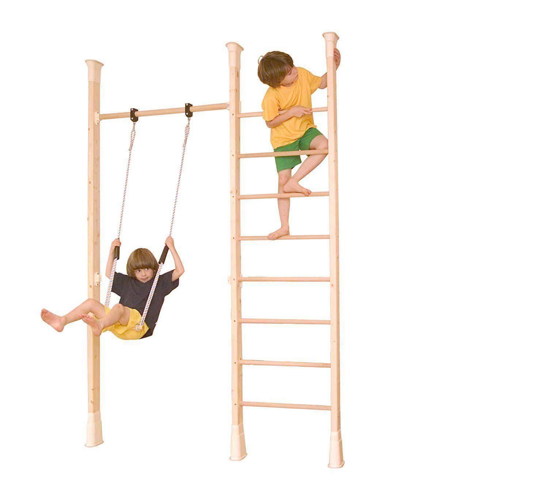 Alte Leiter Kaufen Luxus Kletterdschungel Holz Sprossenwand Indoor Klettergerüst Tüv