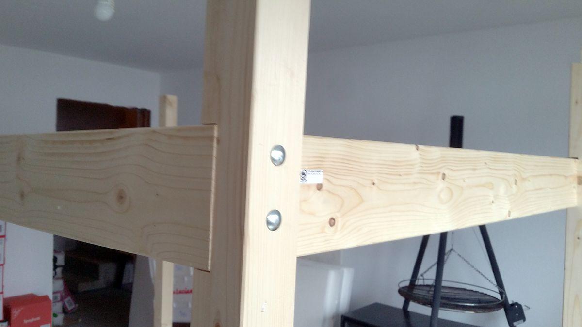 Alte Leiter Kaufen Neu Hochbett Aus Konstruktionsholz Bauanleitung Zum