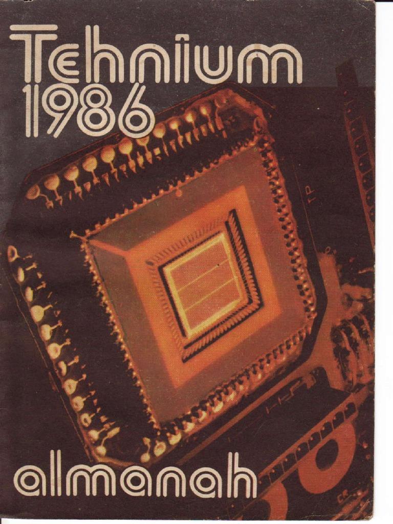 Alte Tür Deko Luxus Almanah Tehnium 1986 Pdf