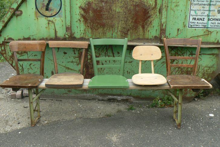 Alter Stuhl Als Gartendeko Best Of Stühle Auf Einer Bierbank Sehr originell Diy