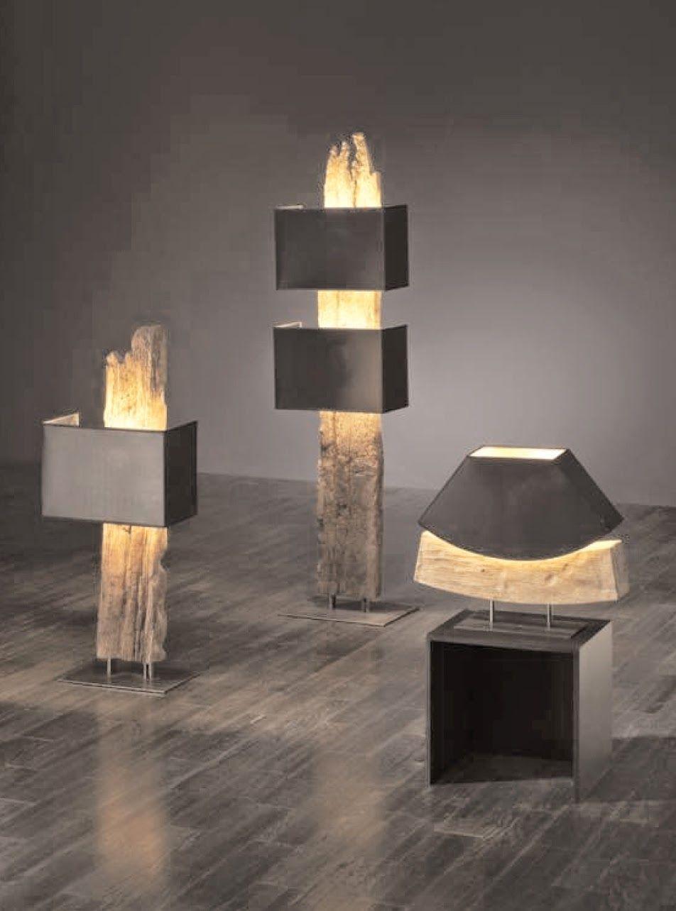 Altes Holz Deko Genial Modern Meets Rustikal Die Stehlampe Antonia Wird Aus Antiken