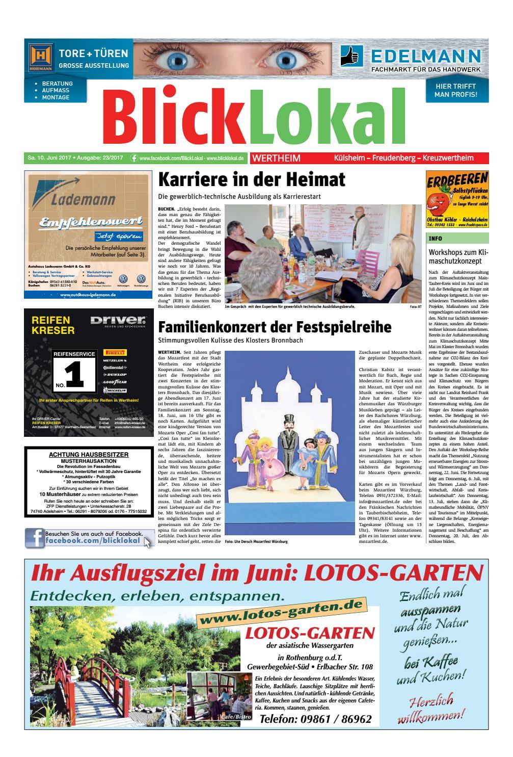 Asiatische Gartendeko Neu Blicklokal Wertheim Kw23 2017 by Blicklokal Wochenzeitung