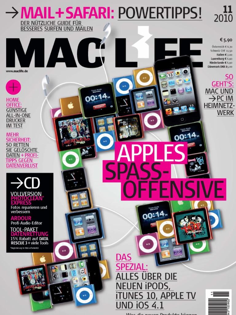 Aus Alten Sachen Schönes Machen Deko Luxus Mac Life 11 2010 Deutsch