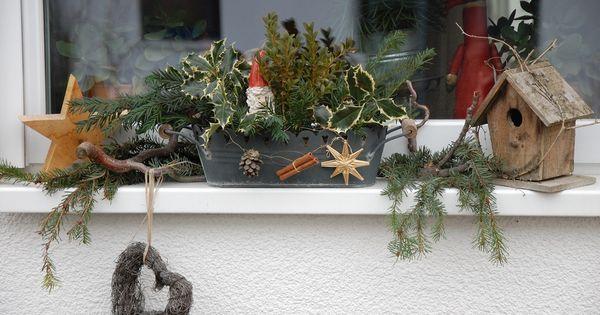 Außendeko Best Of Fensterbank Mit Weihnachtsdeko Bilder Und Fotos