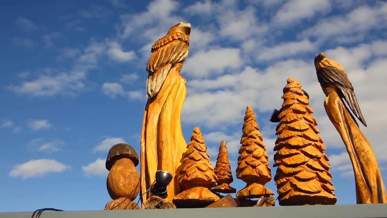 Außendeko Schön Larscarving Außendeko Aufgestellt Schnitzen Mit Der