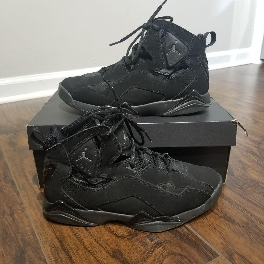 Ausgefallene Gartendeko Inspirierend Air Jordan Nike True Flight Triple Black 013