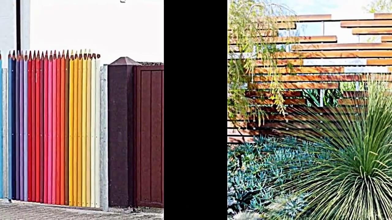 Ausgefallene Gartendeko Selber Machen Best Of Kreative Garten Zaun Design Ideen Ein Highlight Im Garten Setzen