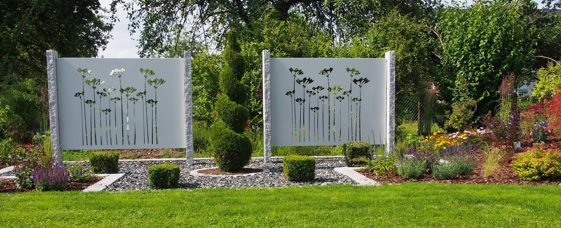 Ausgefallene Gartendeko Selber Machen Frisch Sichtschutz Aus Metall Ganz Individuell Tiko Metalldesign
