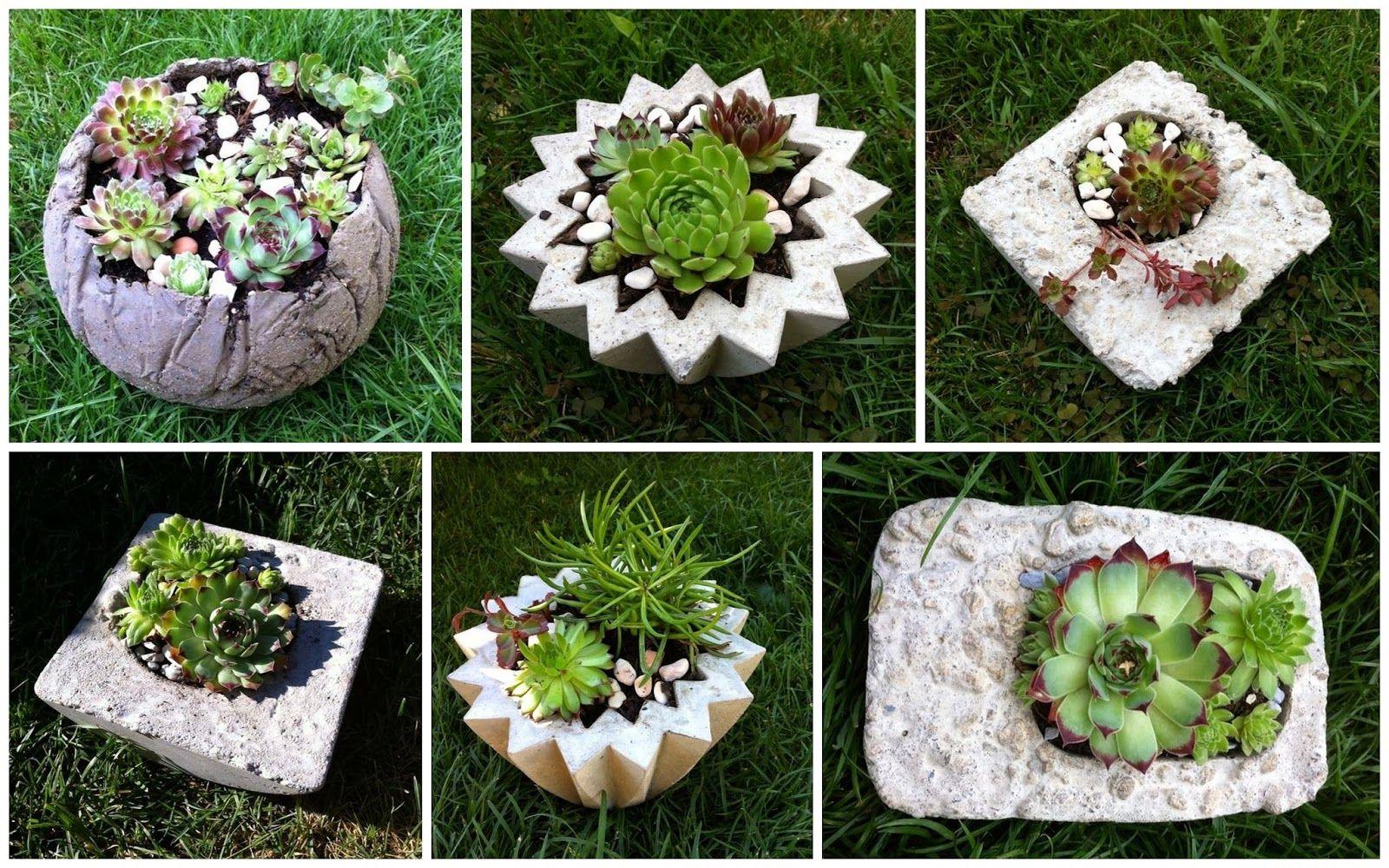 Ausgefallene Gartendeko Selber Machen Genial Kreative Mitbringsel Aus Beton