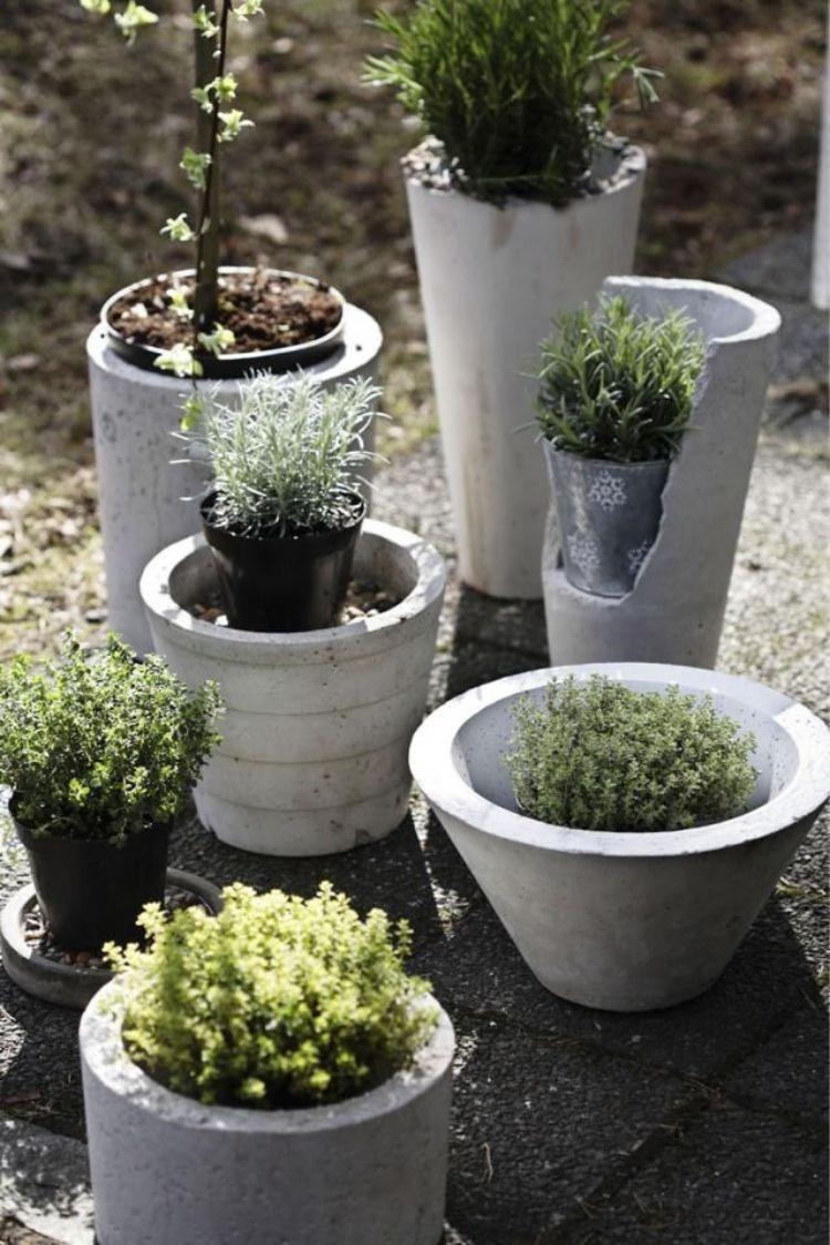 Ausgefallene Gartendeko Selber Machen Inspirierend Gartendeko Aus Beton Selber Machen – 28 Schöne Ideen