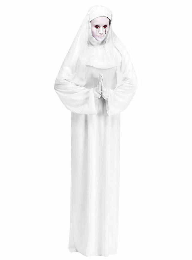 Ausgefallene Halloween Kostüme Frisch Weiße Nonne Kostüm Fasching