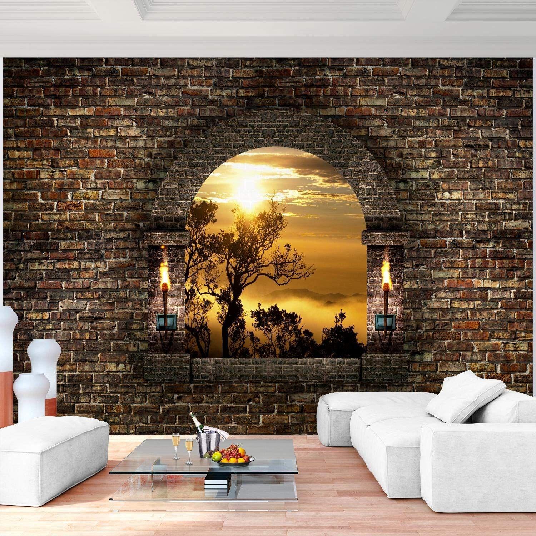 Ausgefallene Wanddeko Schön Fototapeten Fenster Natur 352 X 250 Cm Vlies Wand Tapete