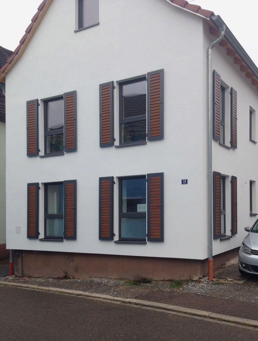 Aussen Hauswand Deko Inspirierend Ehret Easy Flex Aluminium Fensterläden Home