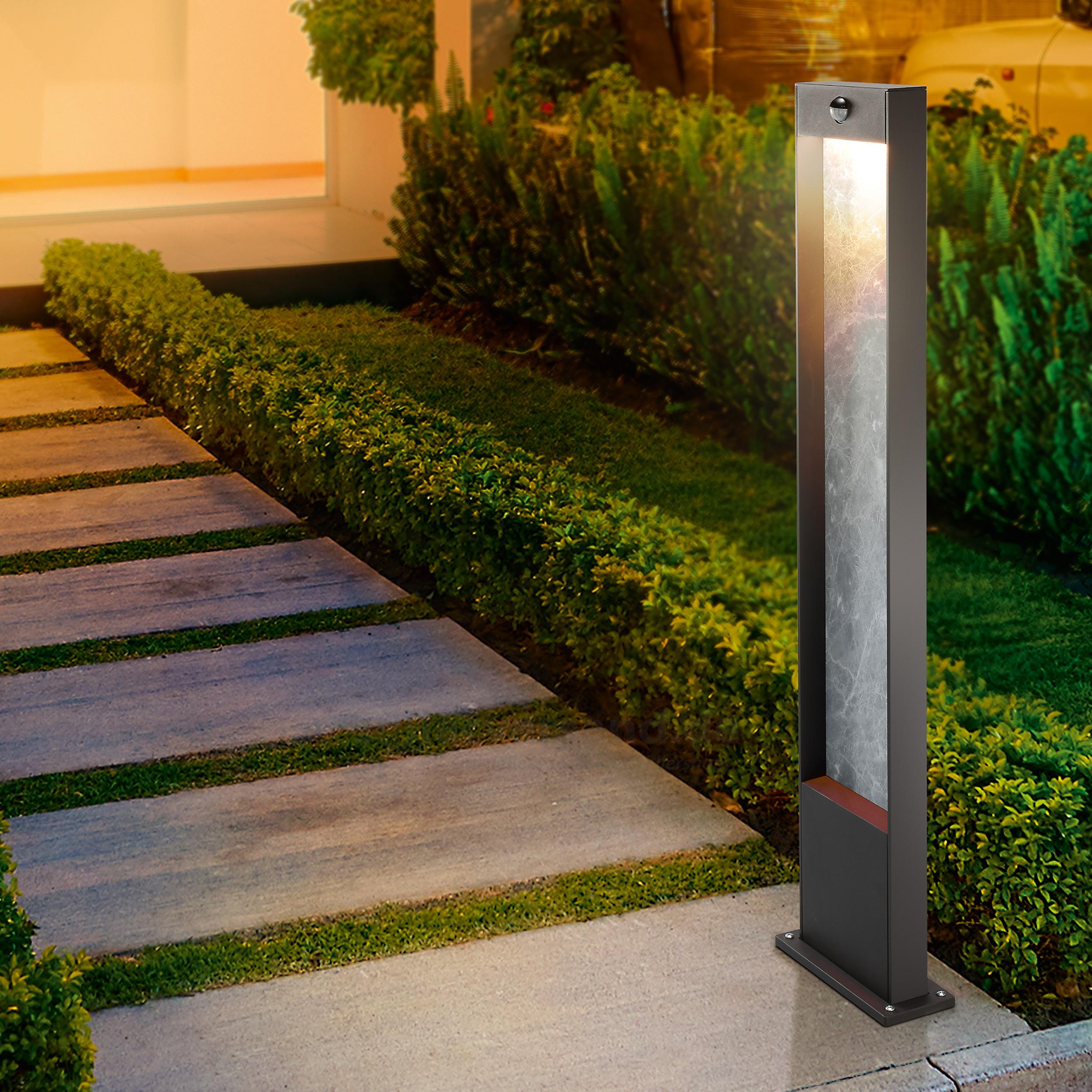 Bachlauf Im Garten Schön Design Wegelampe Stoneline 100 Mit Bewegungsmelder