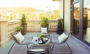 25 Luxus Balkon Dekorieren Ideen
