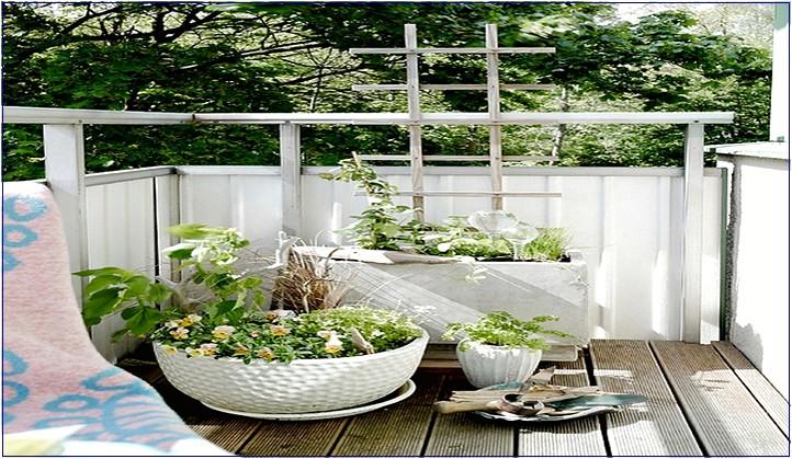 balkon verschonern ideen