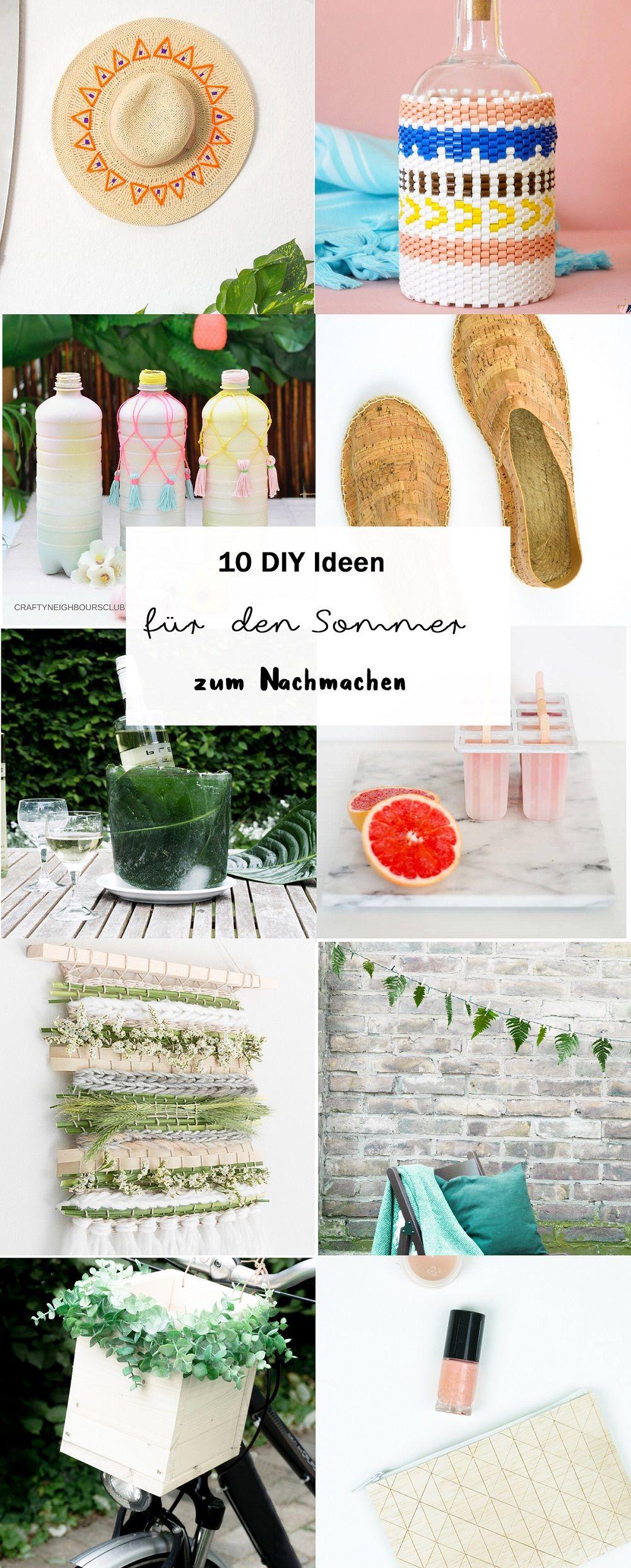 Bastelideen Garten Frisch 10 Diy Bastelideen Für Den sommer