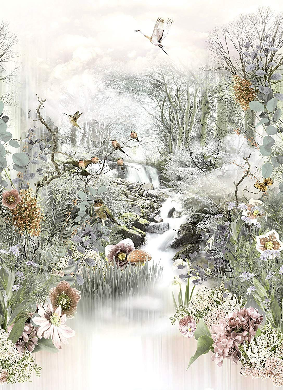 Baum Garten Genial Komar Fototapete Fable 184 X 254 Cm Tapete Wand