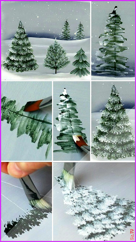 Baumstumpf Dekorieren Neu Malen – Weihnachtszeit Blog