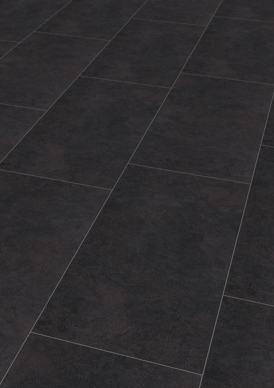 black and white vinyl flooring wineo vinyl 5 mm klick quotdark slatequot from black and white vinyl flooring