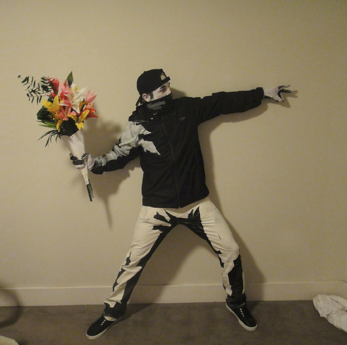 best halloween costume ever banksys