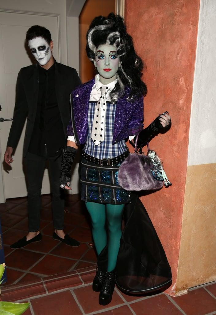 Shenae Grimes Frankie Stein From Monster High