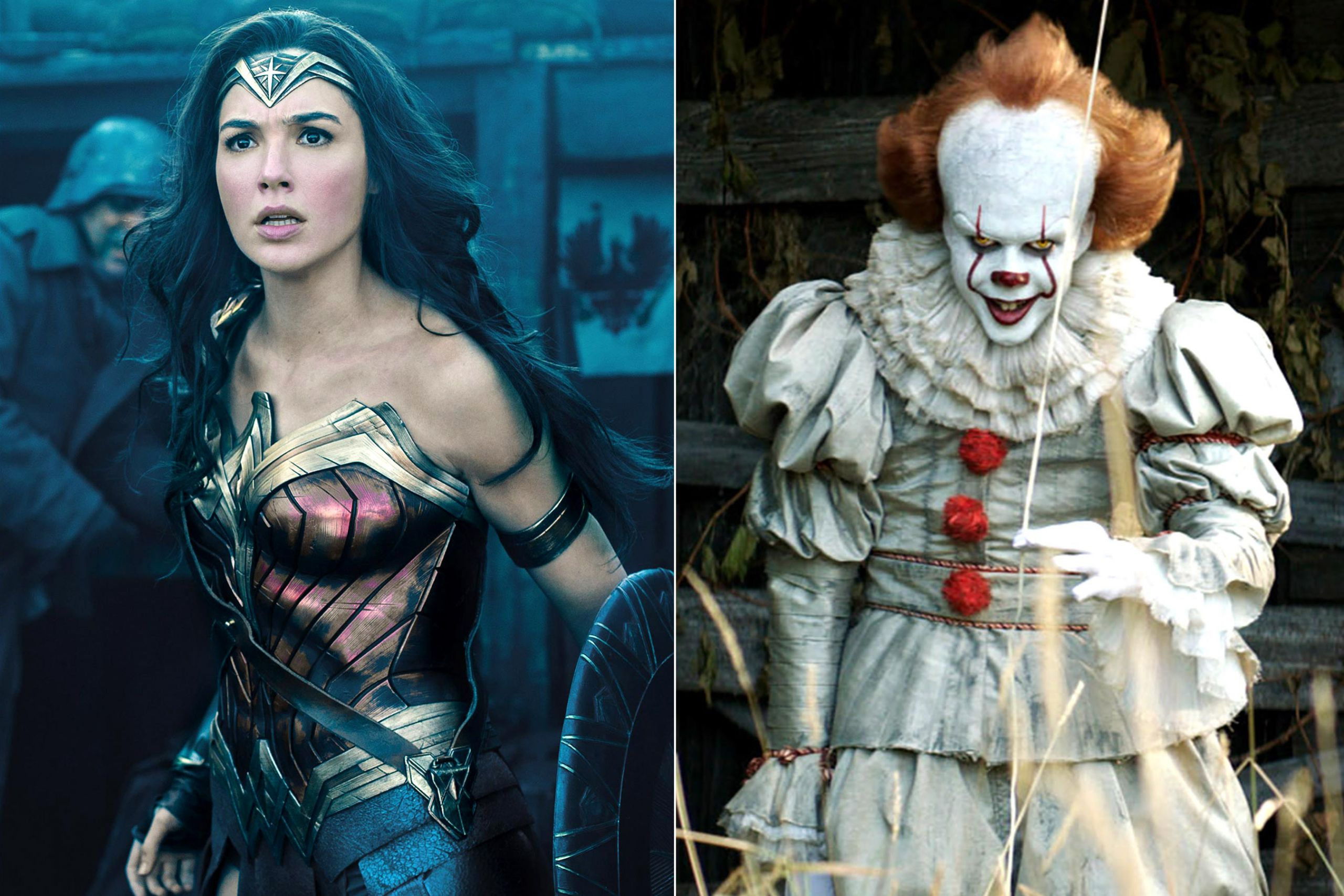 wonder woman pennywise halloween costumes 2017