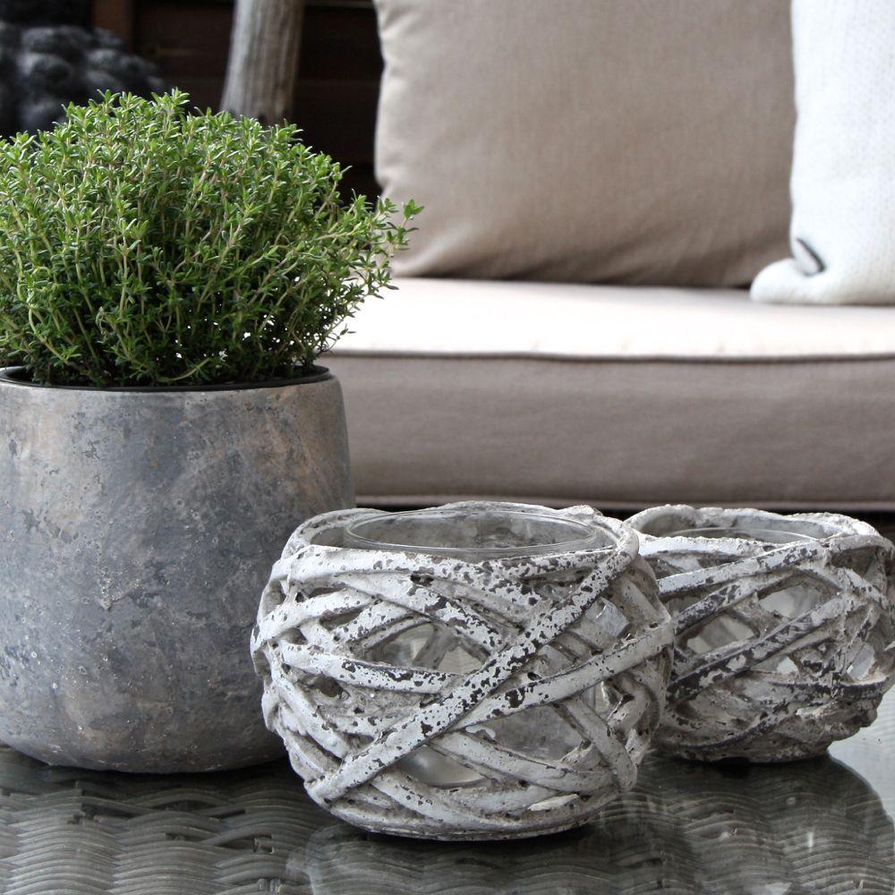 Beton Deko Garten Selber Machen Luxus Windlicht Zement L Hyper Tufa Concrete