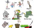 Bilder Garten Genial Gardening tools Actions and Garden Maintenance Vocabulary Pdf