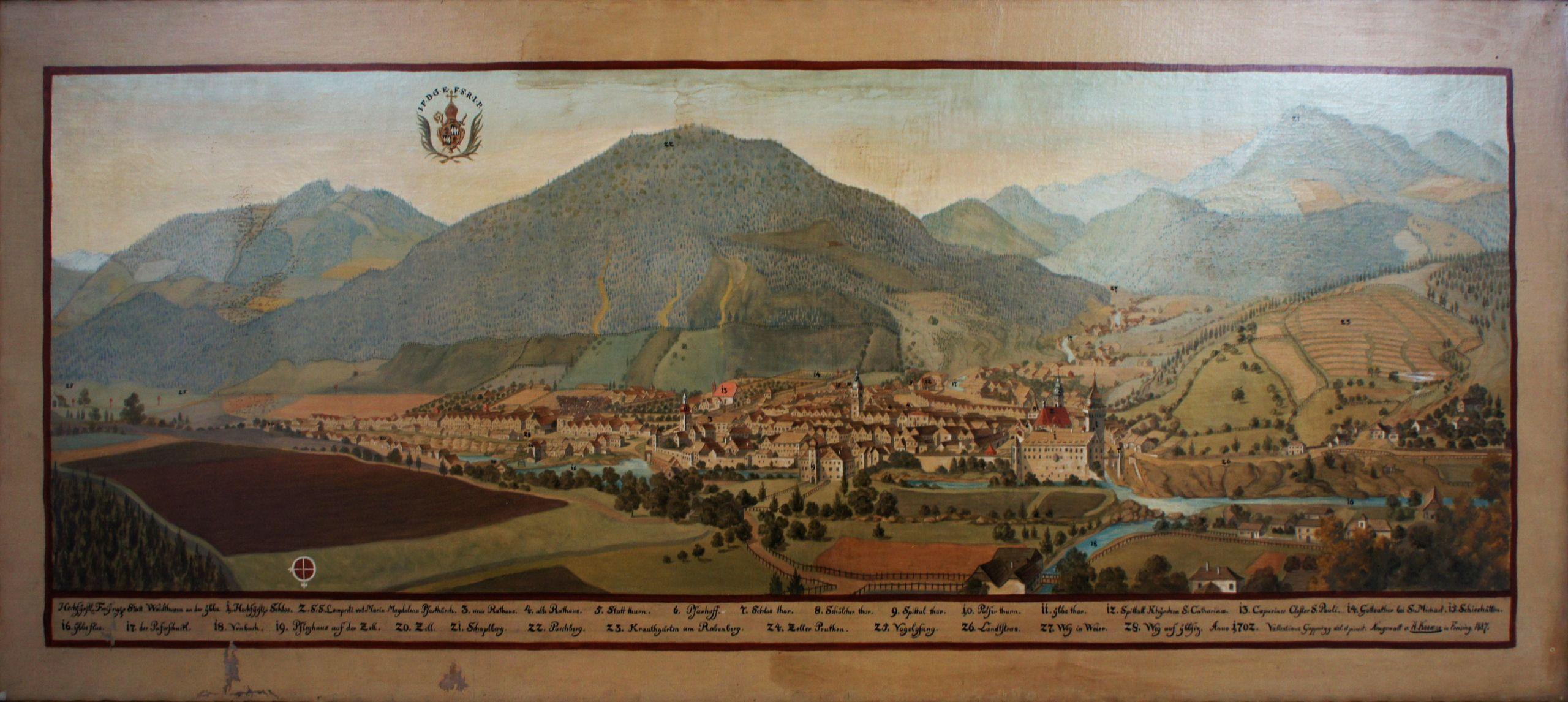 Fürstengang Freising Waidhofen an der Ybbs