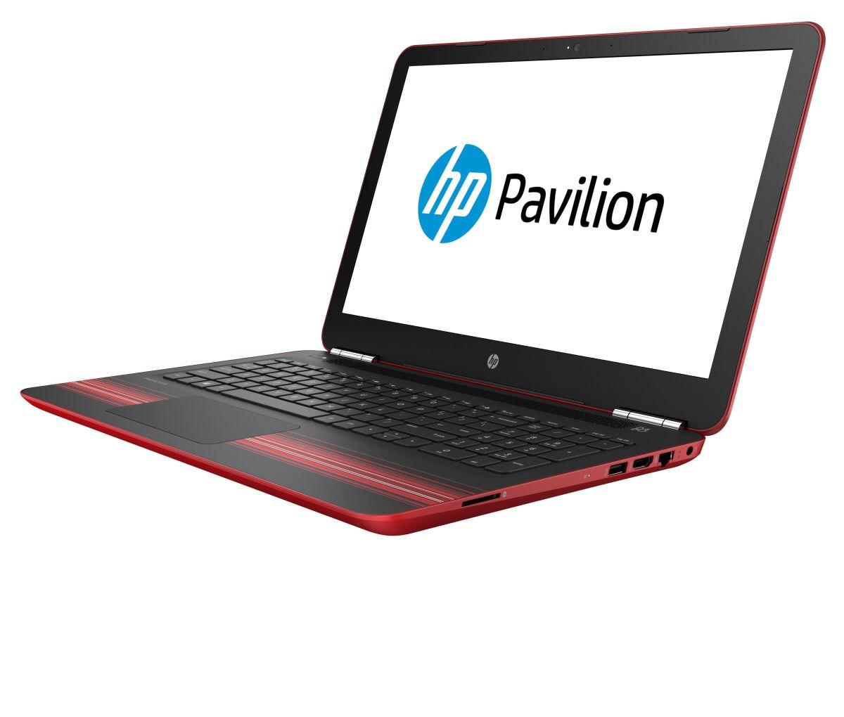 notebook hp pavilion 15 au114ni 1ap60ea red silver