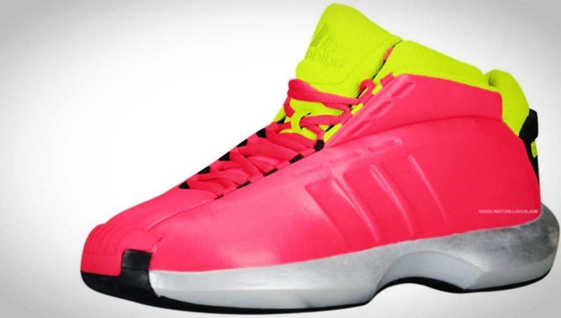 adidas Crazy 1 Lebendige Beere Slime Schwarz G Kobe Damen Herren billige Sneakers schuhe Basketball Schuhe kaufen guenstig 2017
