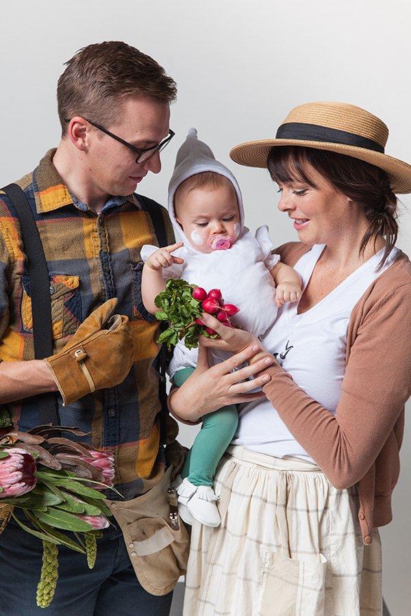 trio halloween kostueme super coole ideen fuer familien mit kindern