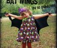Billige Halloween Kostüme Genial Pickled Okra by Charlie No Sew Bat Wings A 10 Minute