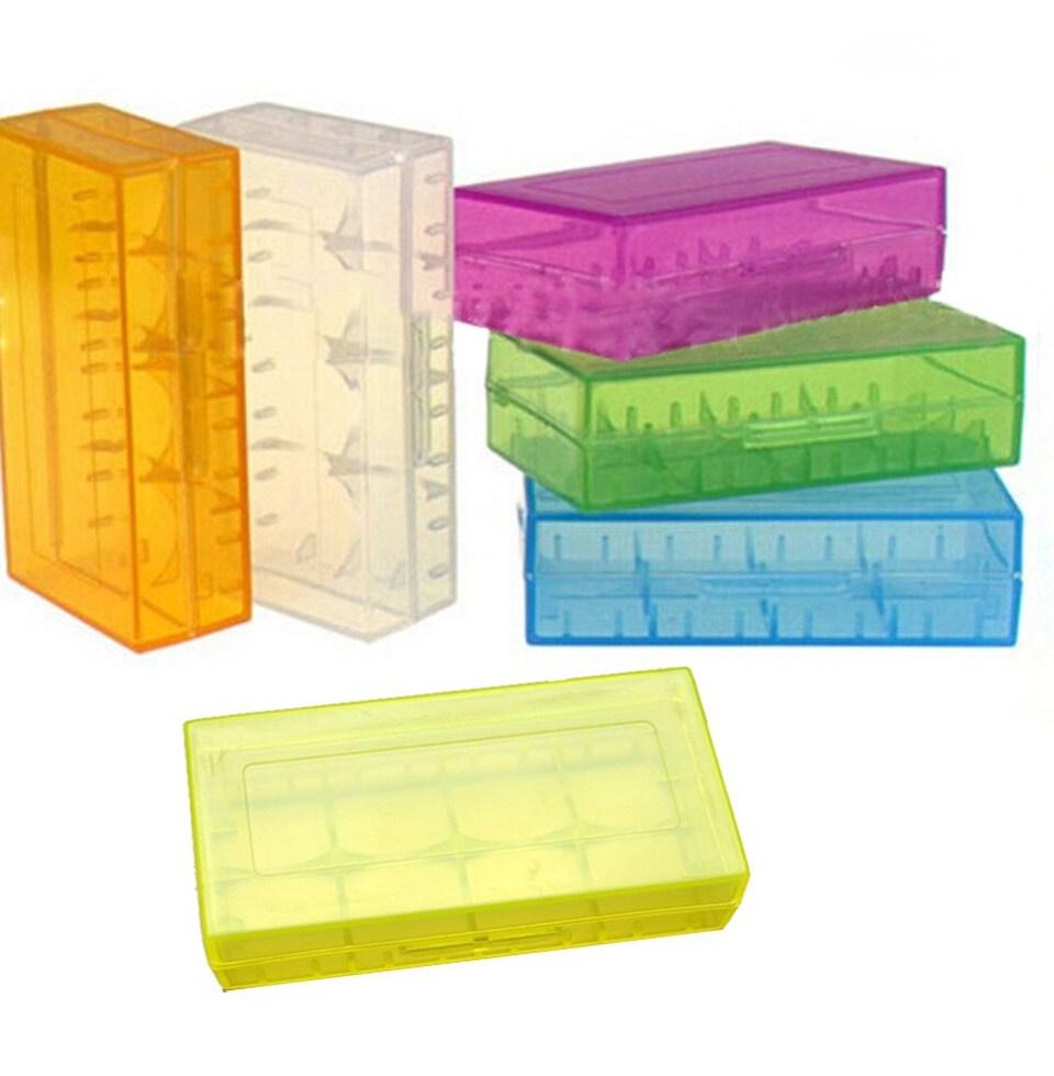 1pc Colorful Plastic font b Battery b font Case Holder Storage font b Box b font
