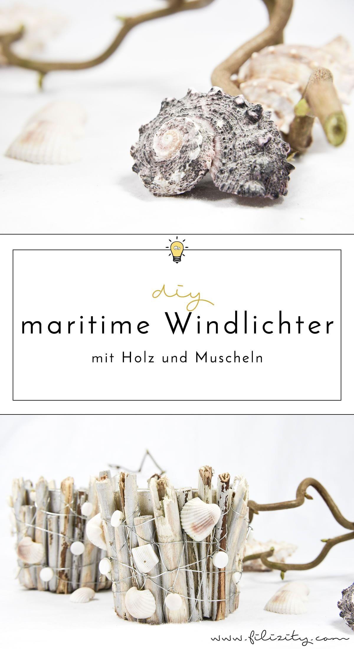 Birkenholz Deko Selber Machen Elegant Maritime Windlichter Mit Muscheln Und Holz