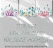 Blumengarten Gestalten Einzigartig Save the Date Karten Blumengarten – Gelb