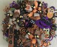 Boot Deko Einzigartig Halloween Wreath Deco Mesh Halloween Decor Halloween Door