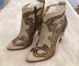 Boot Deko Inspirierend Nib Frye Remy Deco Bootie Brand New with Box Almond toe