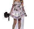 Braut Kostüm Halloween Elegant Halloween Leiche Braut Kostüm Leichte Graue Große Zombie