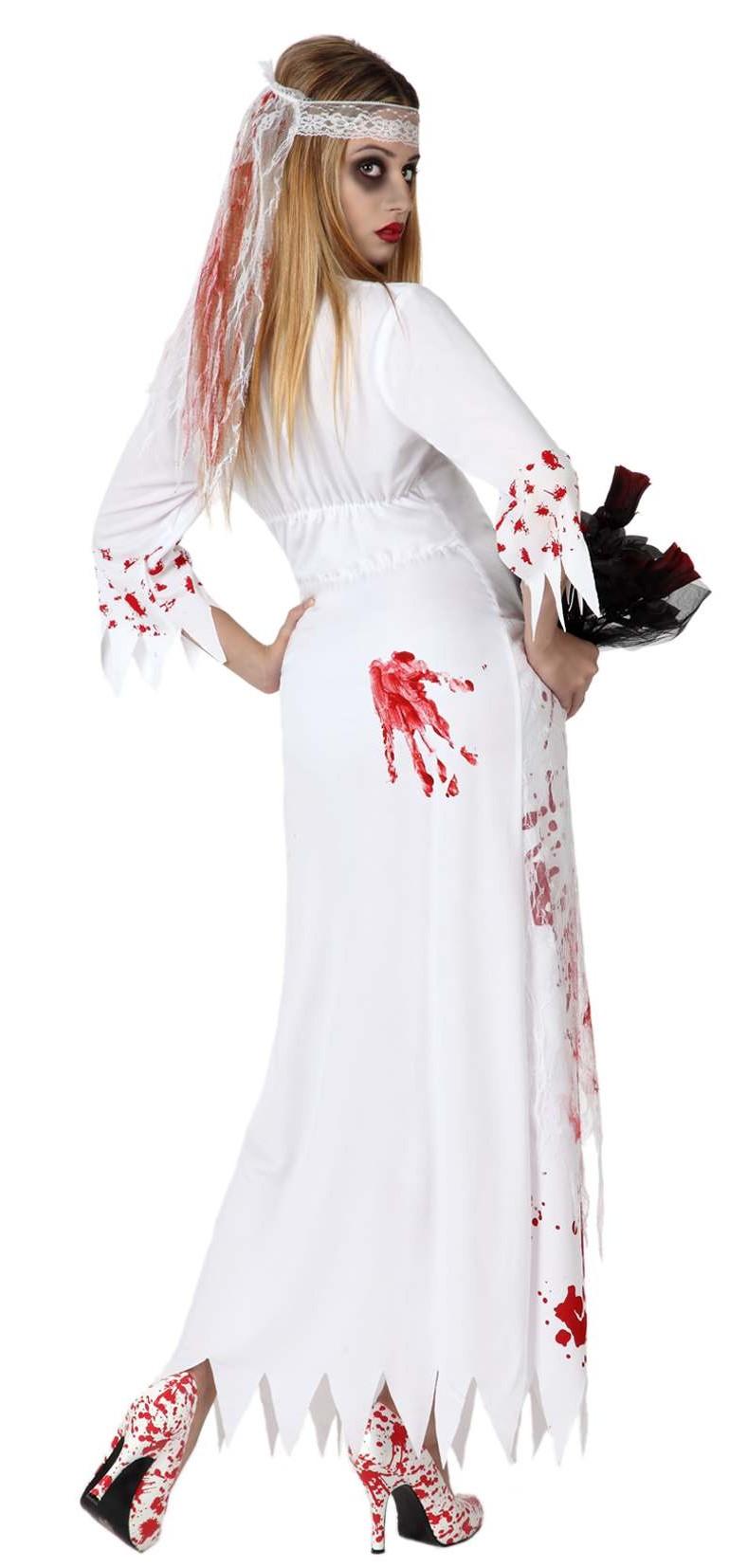 p halloween blutende braut kostum fur damen