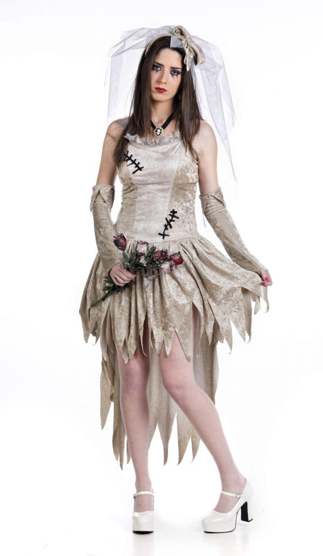 Limit Karneval Halloween Damen Kostuem Tote Braut