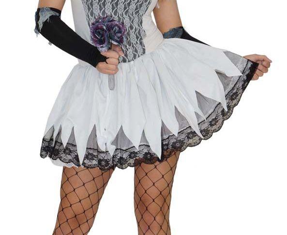 Braut Kostüm Halloween Luxus Zombie Kostüm Halloween Skelett Braut Biene Y Horror Gr