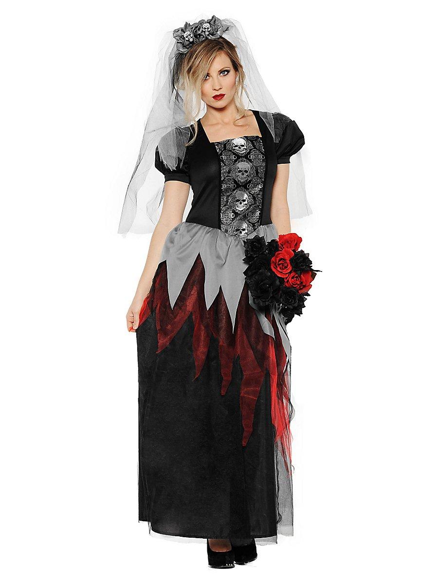 gothic braut kostuem