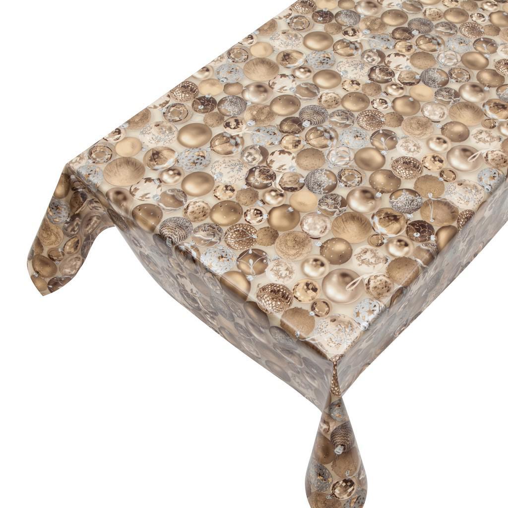 wachstuchtischdecke kristy gold 1 4m breite tischdecke wachstuch meterware haga haga welt